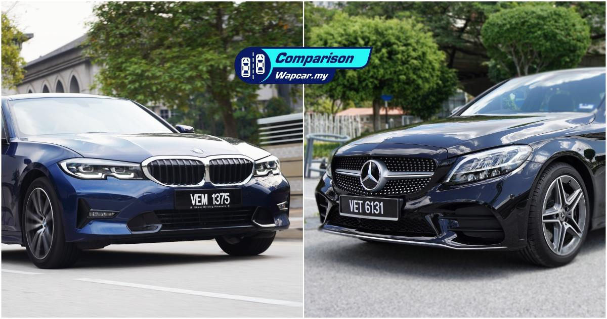 2020 BMW 320i vs 2020 Mercedes-Benz C200 - which is the ride and handling champ? 01