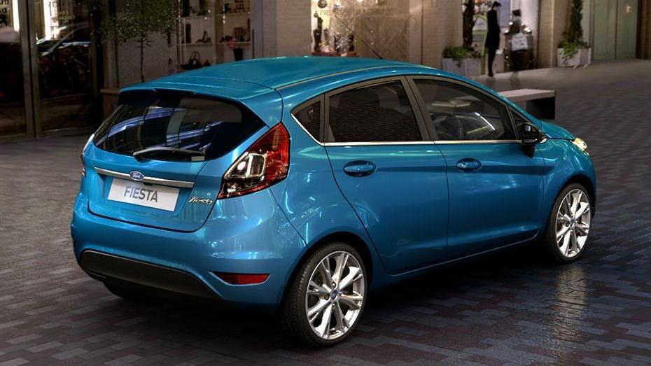Ford Fiesta (2017) Exterior 006