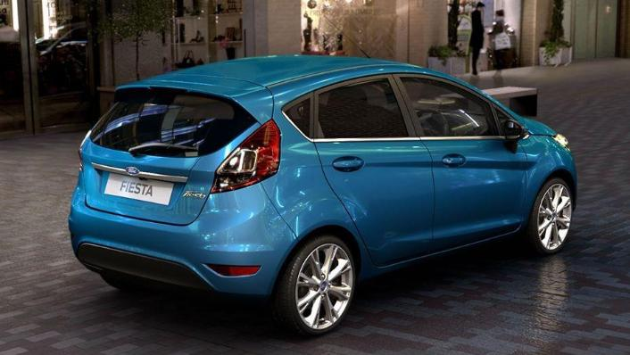 Ford Fiesta (2017) Exterior 006
