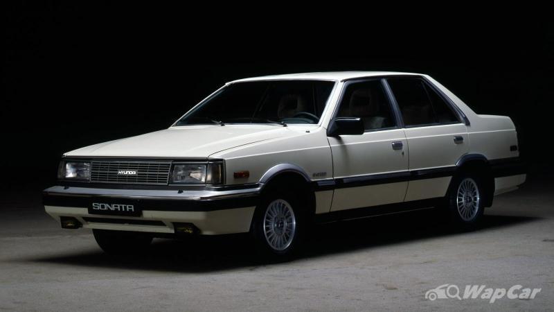 How far has the Hyundai Sonata come since its debut 35 years ago? 02