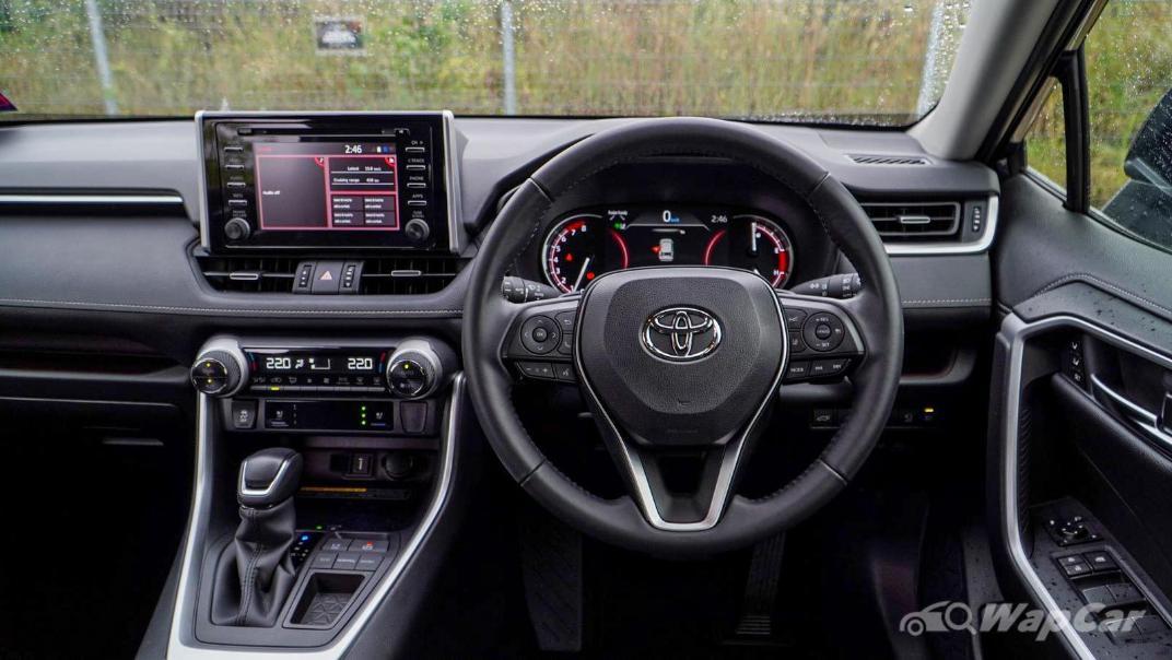 2020 Toyota RAV4 2.5L Interior 124