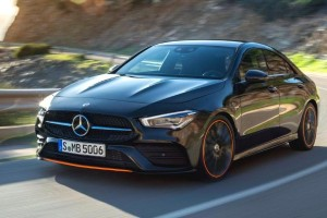 The Reveal Of Mercedes-Benz CLA-Class At The 2019 CES