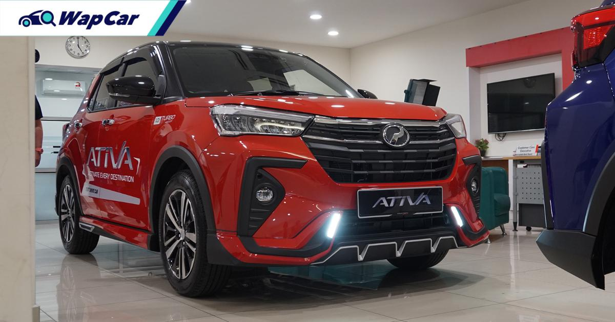 These Gear Up accessories on the 2021 Perodua Ativa activate its fierce side 01