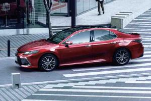 New 2021 Toyota Camry facelift launched in Japan: 10 variants, improved TSS ADAS