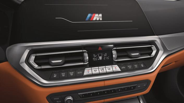 2021 BMW M3 Competition Interior 003
