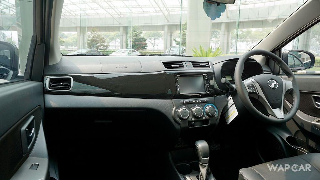 Perodua Bezza (2018) Interior 011