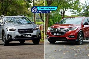 Honda HR-V 2020 vs Subaru XV 2020 - Yang mana lebih selesa?