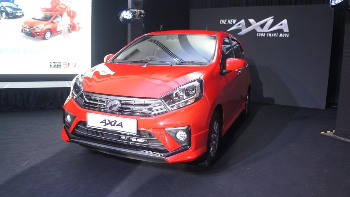 2019 Perodua Axia AV 1.0 AT Exterior 023