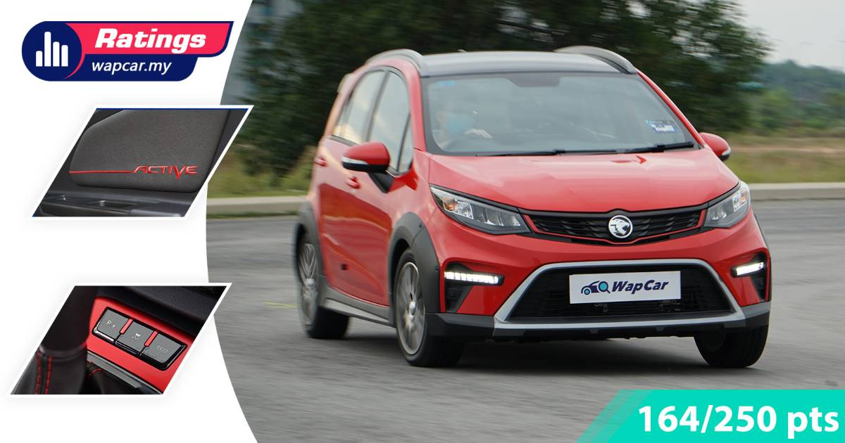 Ratings: 2022 Proton Iriz Active - How much better is this updated Myvi rival? 01