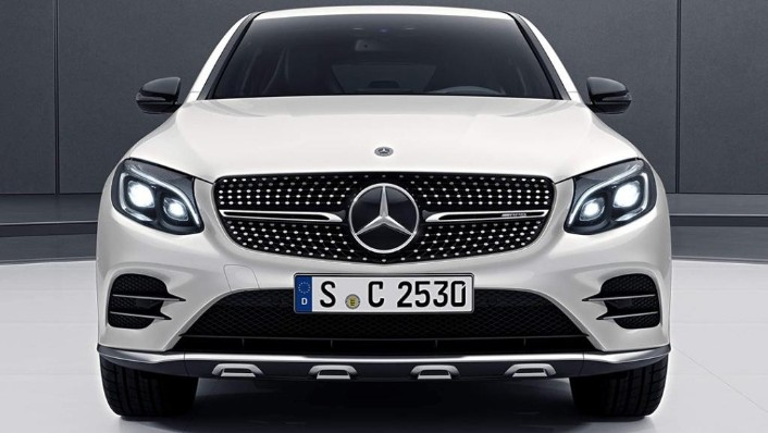 2018 Mercedes-Benz AMG GLC Coupe  43 4MATIC Coupe Exterior 002