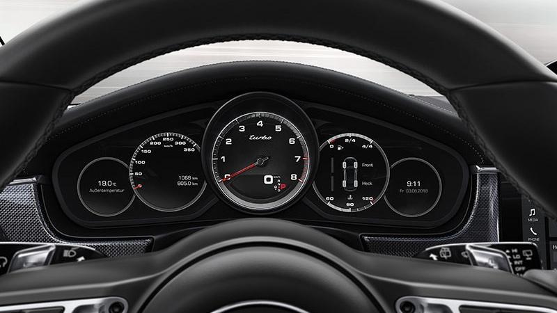 Porsche Panamera Turbo(2019) Interior 001