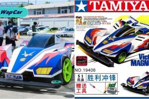 Model Tamiya Victory Magnum dengan enjin V6 turbo Mitsubishi berskala 1:1! Jom lihat ia dipandu!