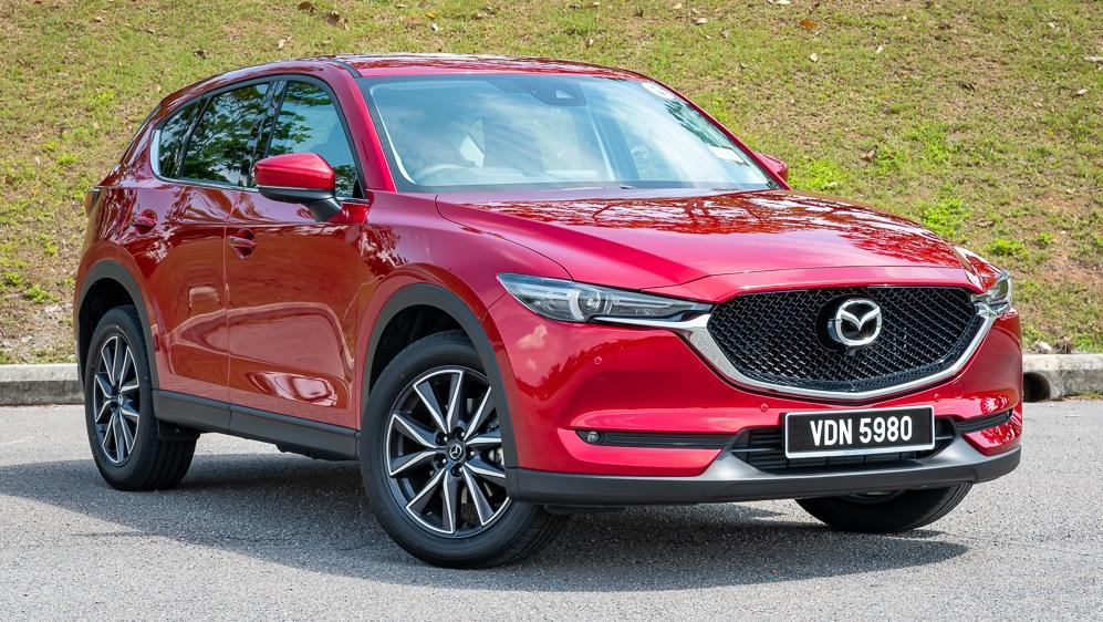 2019 Mazda CX-5 2.5L TURBO Exterior 004