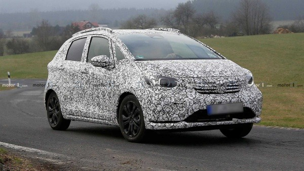 2020 New Car Spy Shots & Rendered Pics: The Upcoming Fourth-Generation Honda Jazz / Fit 01