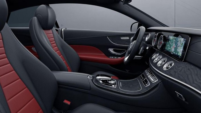 Mercedes-Benz E-Class Coupe (2018) Interior 007