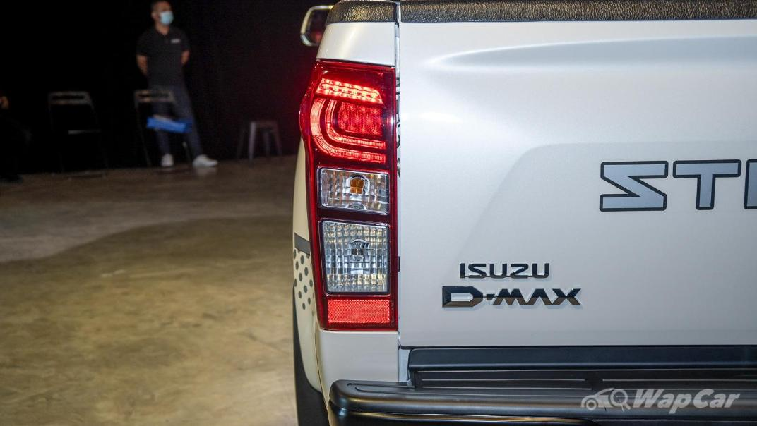 2020 Isuzu D-Max Stealth 1.9L 4×4 AT Exterior 022