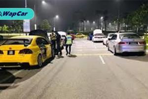 Kereta Honda disita dalam perlumbaan haram di Eco Hill, Semenyih