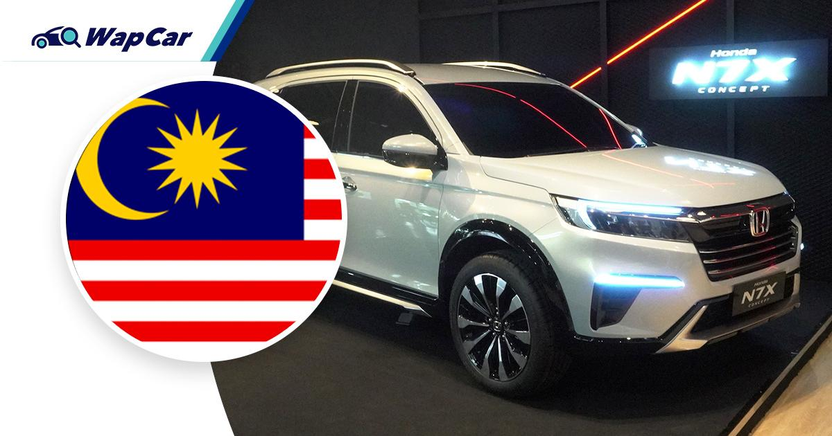 The all-new Honda BR-V could be launched in Malaysia in early 2022 01