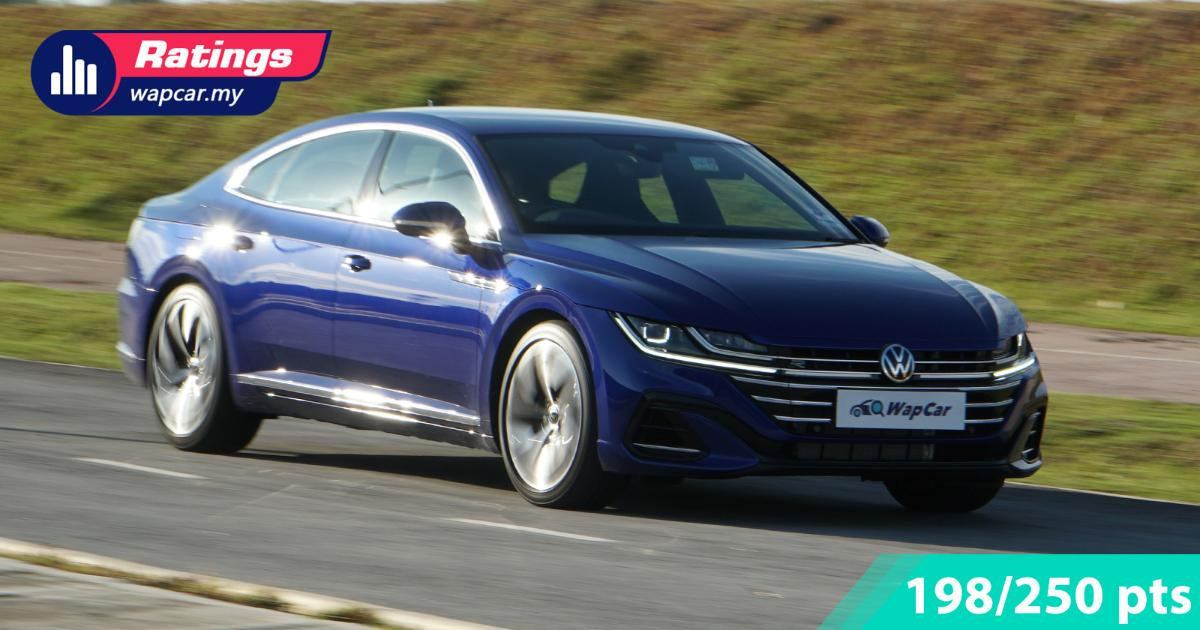 Ratings: 2021 VW Arteon R-Line facelift in Malaysia - Cheapest among rivals, but better than them 01