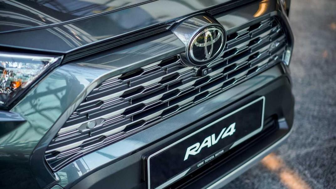 2020 Toyota RAV4 2.5L Exterior 060