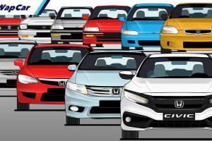 Honda Civic di dalam 10 generasi – warisan Honda yang terhebat?