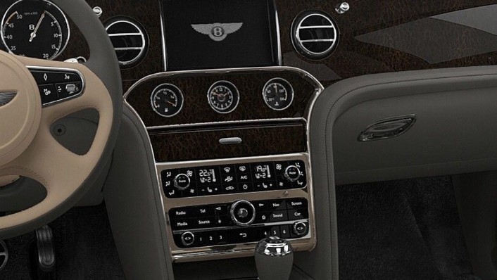 Bentley Mulsanne (2017) Interior 004