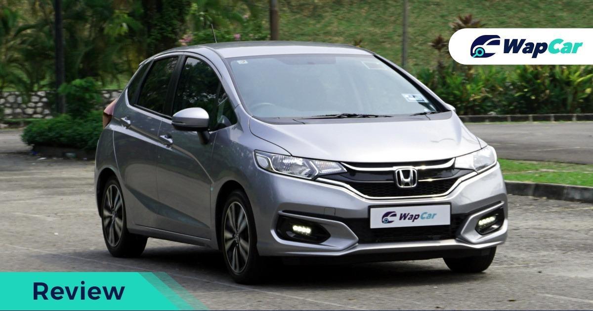 Honda Jazz review opening