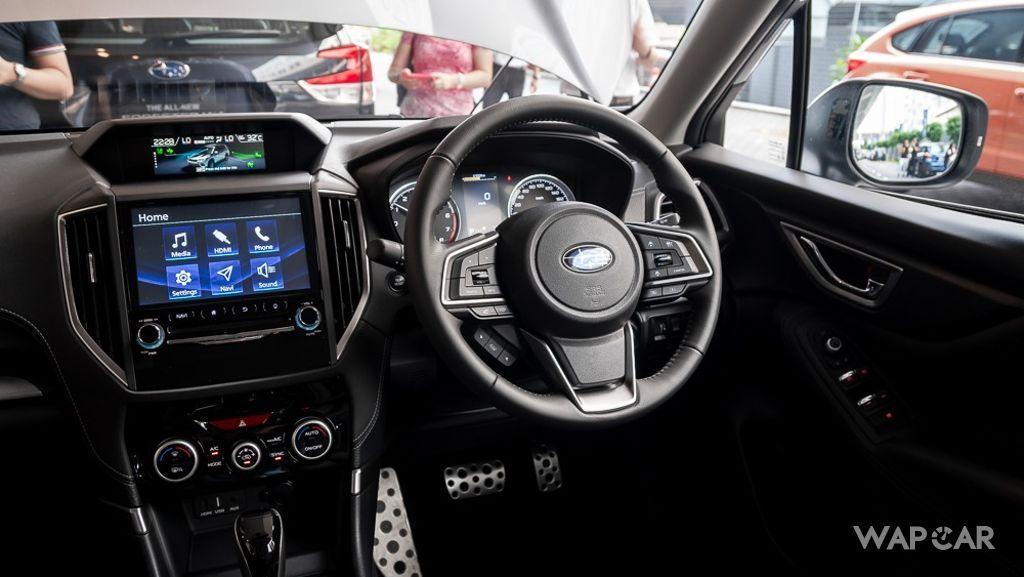 Subaru Forester (2019) Interior 012