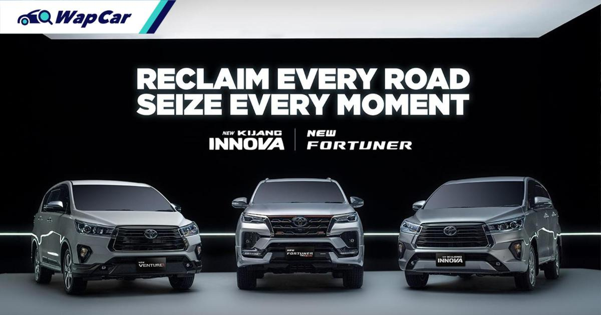 Toyota Fortuner dan Toyota Innova 2021 dilancarkan di Indonesia! Bakal hadir di Malaysia tahun 2022? 01