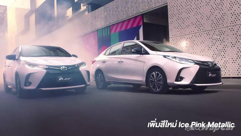 Thais get 2021 Toyota Yaris Ativ/Vios Play variant, Honda City tickled pink or afraid? 02