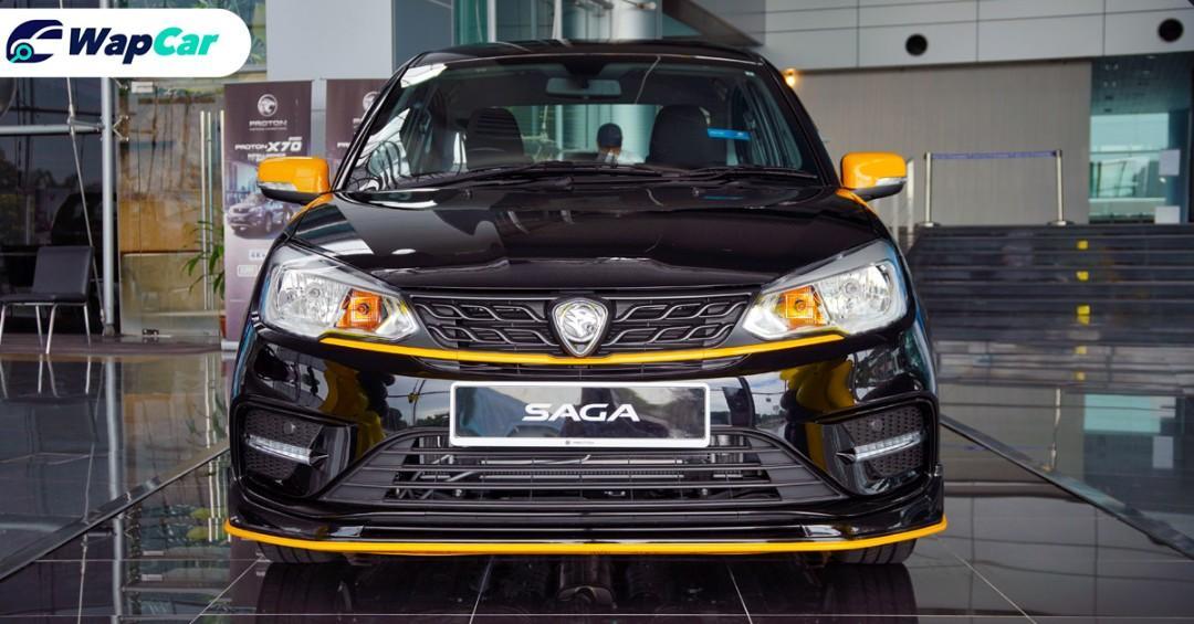 Live photos: 2020 Proton Saga Anniversary Edition, from RM 39,300 01