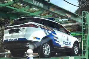 Watch out criminals! The Proton X70 police cars are on their way!