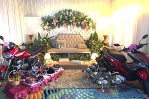 Nak bagi 'Ysuku' tapi Yamaha RXZ dan Yamaha NVX jadi hantaran pengantin pun jadilah!