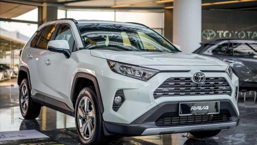 2020 Toyota RAV4 2.5L Exterior 038