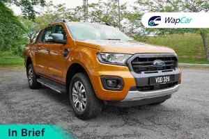 In Brief: Ford Ranger, combining the best of utilitarian and refinement