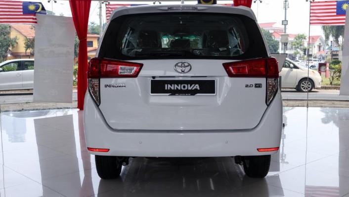 2018 Toyota Innova 2.0G (A) Exterior 004