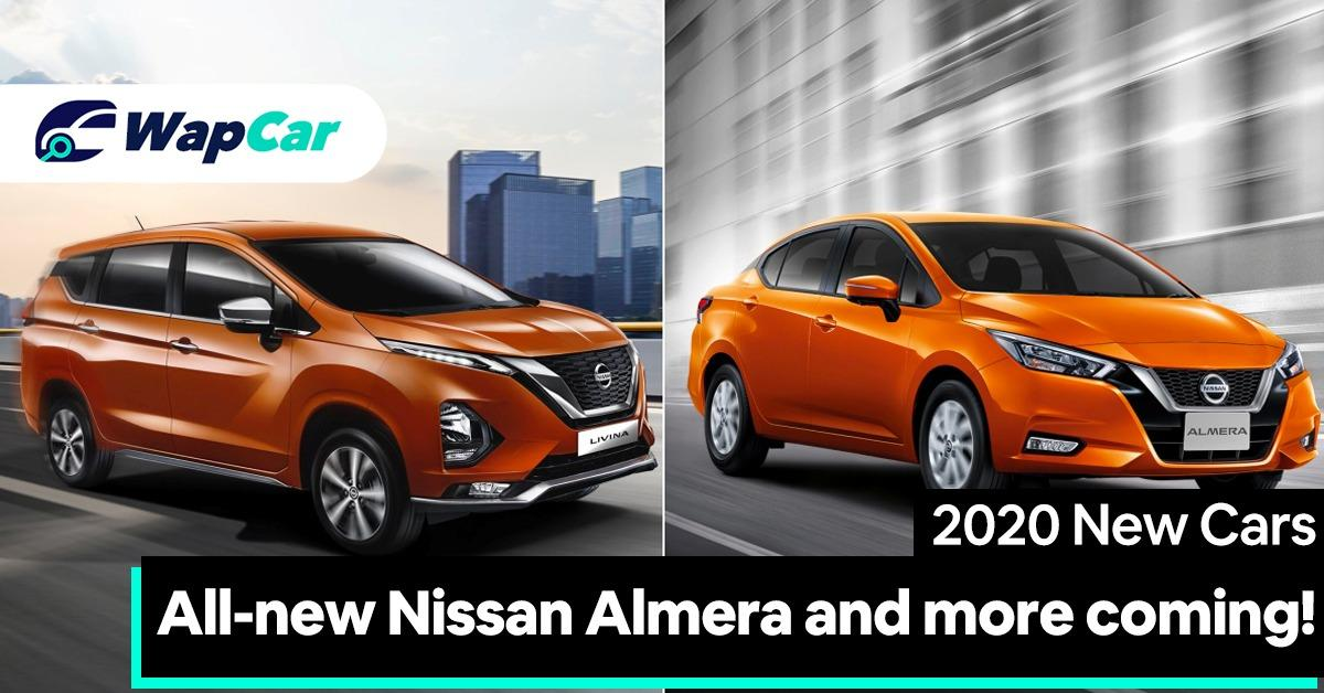 2020 Nissan new models – Almera and more coming to Malaysia soon! 01