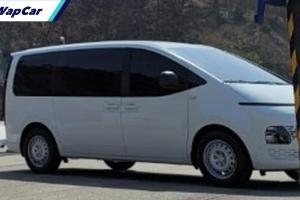 Spyshot: Hyundai Staria spec bawah 'bocor' setelah diacah semalam?