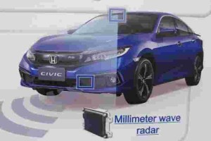 Next generation Honda Sensing can prevent collisions at junctions and crossroads