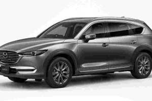 Mazda CX-8 receives a running change in Japan