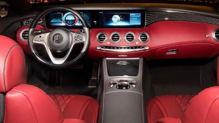 Mercedes-Benz S-Class Cabriolet (2018) Interior 002