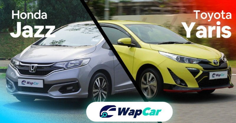 Honda Jazz vs Toyota Yaris equipments