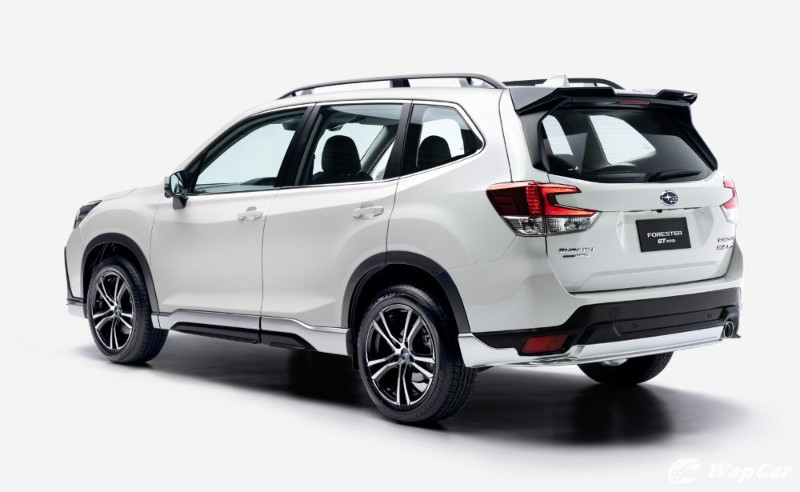 Stand Out With The Aggressive Subaru Forester Gt Edition Wapcar