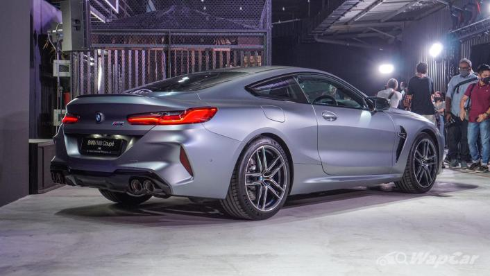 2020 BMW M850i xDrive Coupe Exterior 004