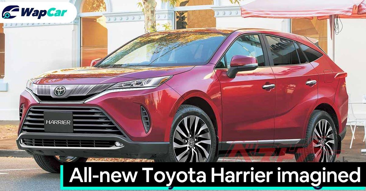 All-new Toyota Harrier rendered 01