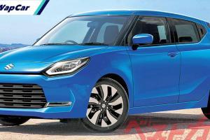 Suzuki Swift serba baru: Bakal debut pada Julai 2022?