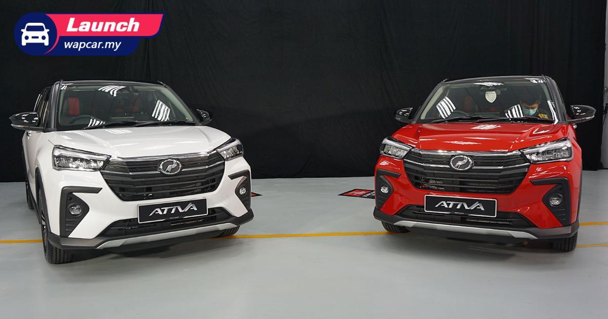 2021 Perodua Ativa正式在我国上市:标价RM 62k起跳,搭载1.0 L Turbo引擎,动力输出98 PS/140 Nm 01