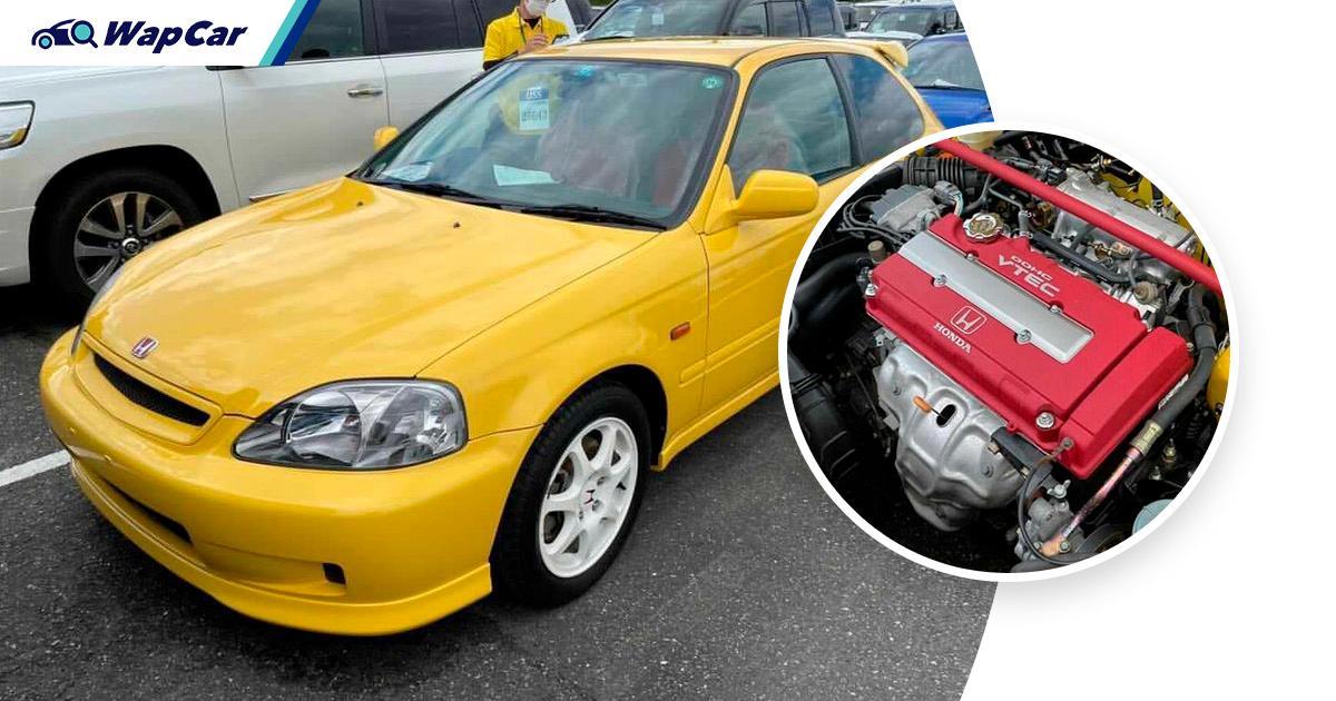 At RM 400k, this pristine EK9 Honda Civic Type R just set a world record price! 01