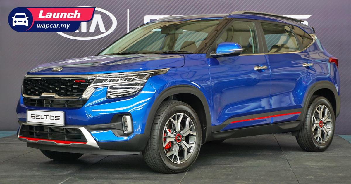 2021 Kia Seltos launched in Malaysia: 1.6L NA, CBU India, 2 variants, from RM 116k 01