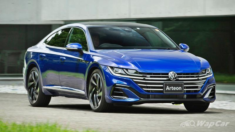 Never mind a 3 Series/C-Class, a VW Arteon is a better Audi but VW can't say that 02